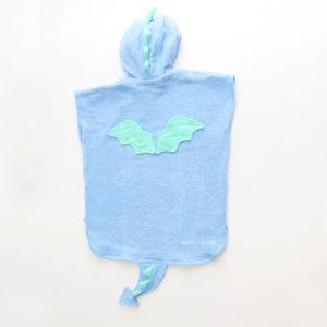 пончо полотенце махровое дракон