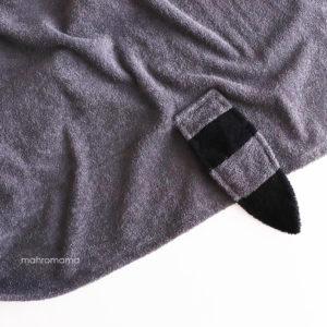 МАХРОВОЕ ДЕТСКОЕ полотенце с капюшоном с ушками с мордочкой и хвостиком енот