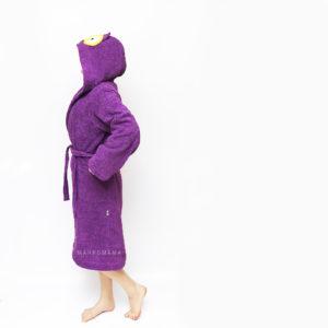 халат махровый банный женский сова