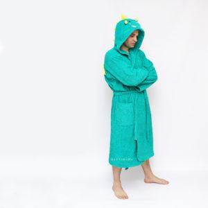 мужской халат махровый банный длинный