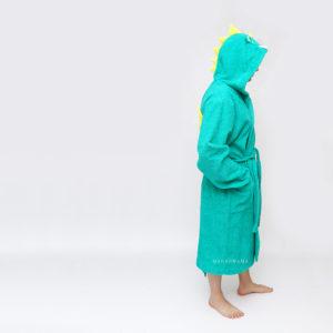 махровый халат с капюшоном для мужчин
