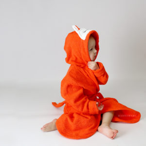 лисичка халатик детский махровый
