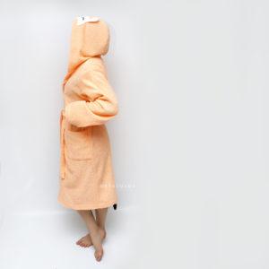 женский махровый банный халат