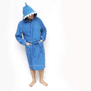 махровый халат с капюшоном для взрослых и детей