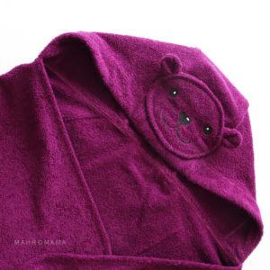 детское полотенце уголок для купания махровый мишка
