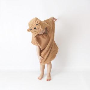 пончо полотенце махровое детское мишка