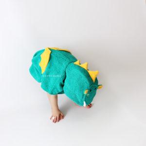 дракончик махровое пончо детское