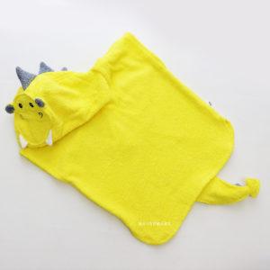 махровое пончо халат для детей и взрослых