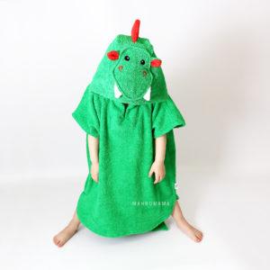 детское пончо дракон