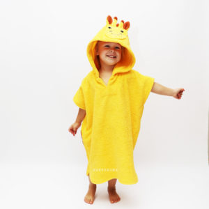 детское пончо жираф