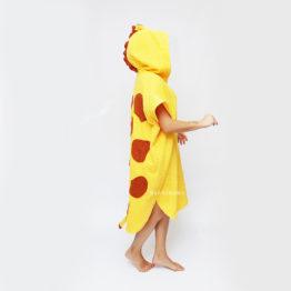пончо жираф махровый пончо