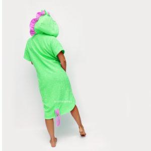 единорог пончо халат махровый для взрослых