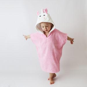 халатик пончо детский единорог