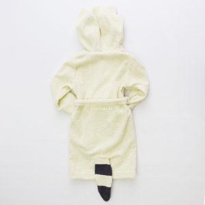 махровый халат детский енот
