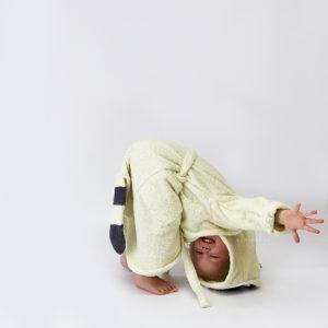 детский махровый халат енотик