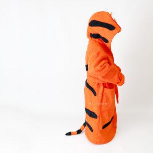 тигр халат махровый женский