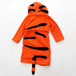 махровый халат с капюшоном детский