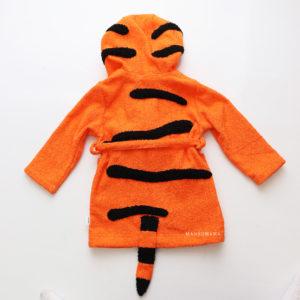халат для малышей махровый тигренок