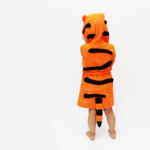 халат для детей с тигром