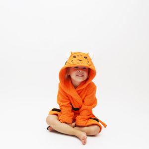 халат махровый тигренок для малышей