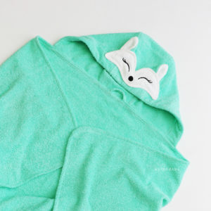 лисичка мятная полотенце махровое для детей