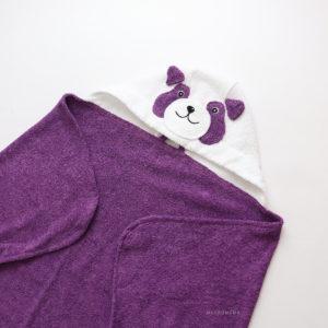 махровое полотенце для пляжа детское панда