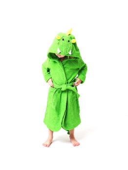 махровый халат с капюшоном для детей
