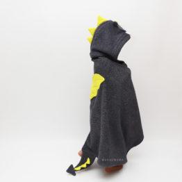 полотенце махровое с капюшоном уголком для детей